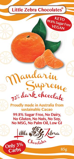 Little Zebra Chocolates: Mandarin Supreme
