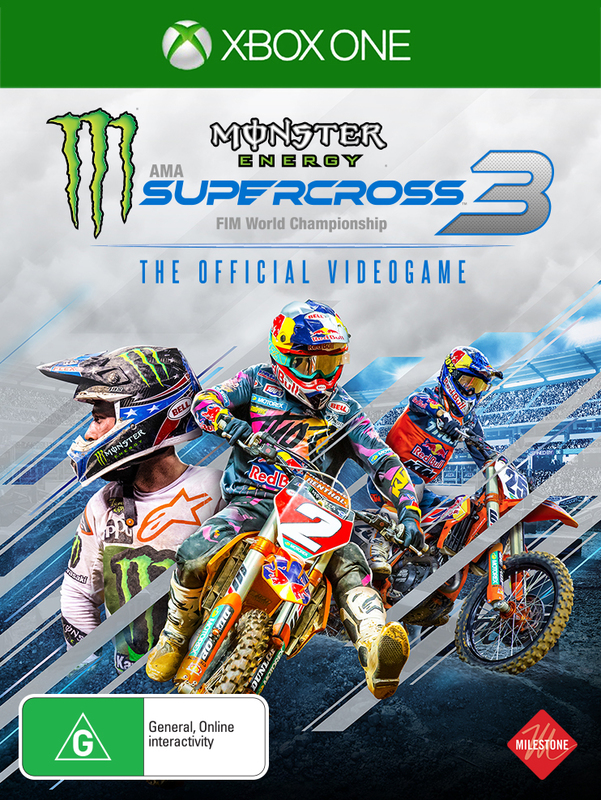 Monster Energy Supercross - The Official Videogame 3 for Xbox One