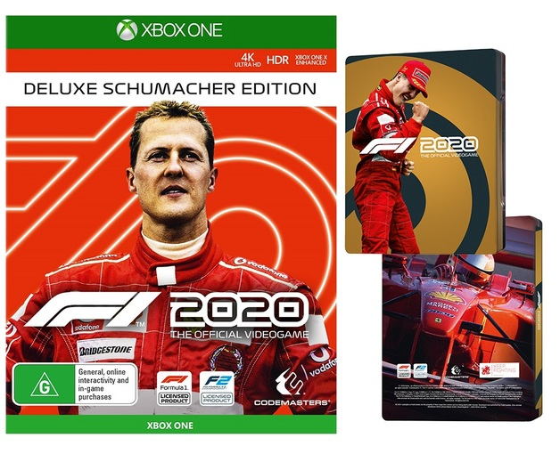 F1 2020 Deluxe Schumacher Edition for Xbox One