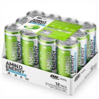 Optimum Nutrition Amino Energy Sparkling RTD - Green Apple (12x355ml)