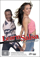 Learn Salsa - Salsa Combinations (DVD And CD) on DVD