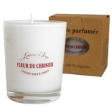 Les Lumières Du Temps Glass Scented Candle (Cherry Tree)