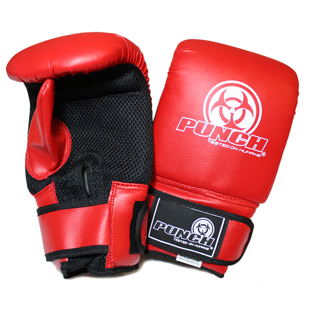 Punch: Urban Bag Mitts - Small (Red)