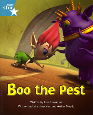 Fantastic Forest Turquoise Level Fiction: Boo the Pest by Lisa Thompson image
