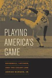 Playing America's Game by Adrian Burgos image
