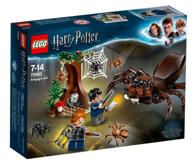 LEGO Harry Potter: Aragog's Lair (75950)
