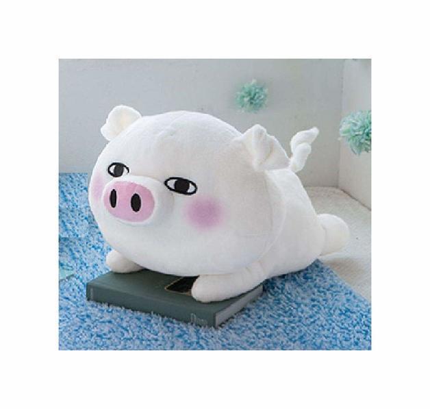 Yosi Stamp Lying Down Plush - Butasan (Pig)