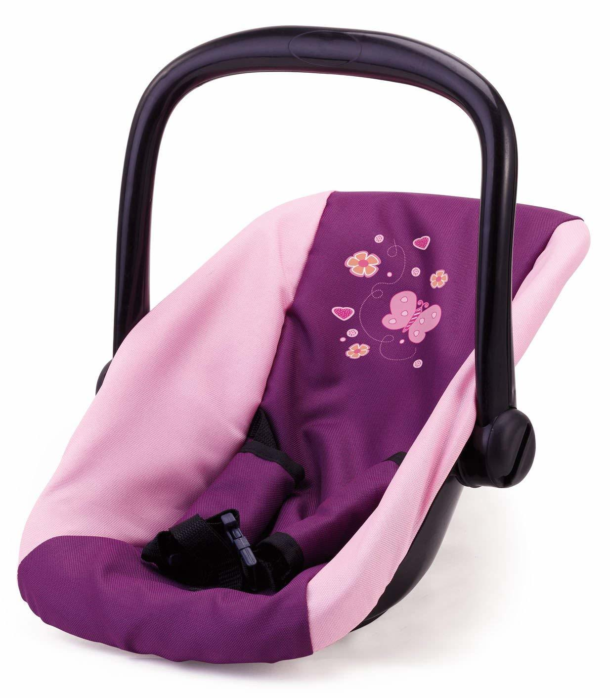 Bayer: Doll Car Seat - Purple Butterfly image