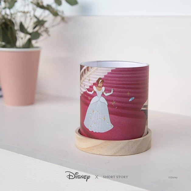 Disney: Mini Glass Lantern - Cinderella