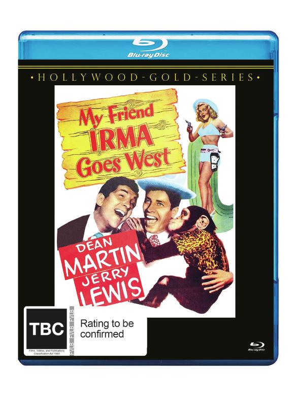 My Friend Irma Goes West on Blu-ray
