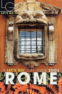 Let's Go Rome 2003 by Let's Go Inc image