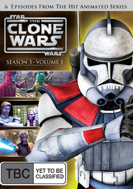 Star Wars: The Clone Wars - Season 3 Volume 1 on DVD