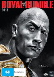 WWE Royal Rumble 2013 on DVD