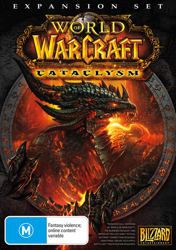World of Warcraft: Cataclysm for PC Games