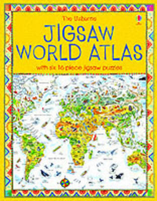 The Usborne Jigsaw World Atlas by Colin King