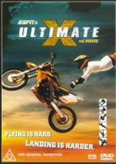 ESPN's Ultimate X - The Movie on DVD