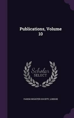Publications, Volume 10 image
