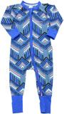 Bonds Zip Wondersuit Long Sleeve - Surf Tribe (0-3 Months)