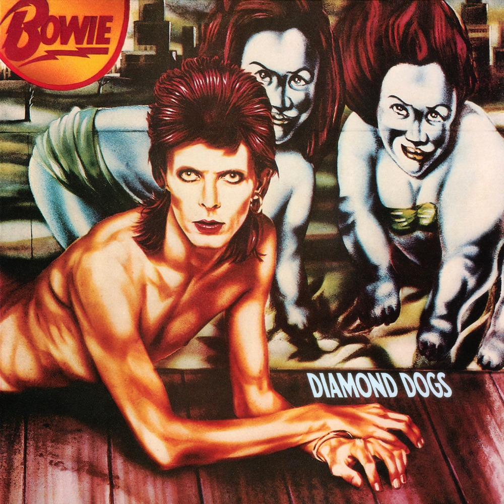 Diamond Dogs 2016 Remastered Version (LP) by David Bowie image