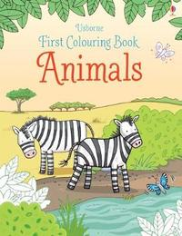 First Colouring Book Animals by Jessica Greenwell