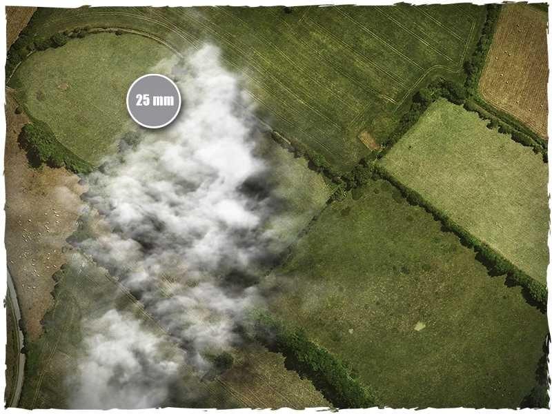 DeepCut Studio Aerial Field PVC Mat (4x4) image