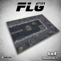 FLG Industrial #1 Neoprene Gaming Mat (6x4)