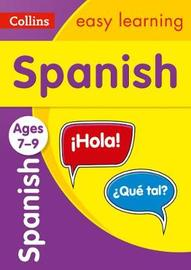 Spanish Ages 7-9 by Collins Easy Learning image