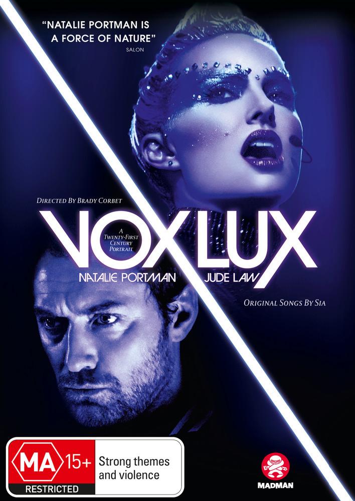 Vox Lux on DVD image