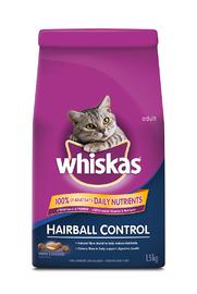 Whiskas Hairball Control (1.5kg)