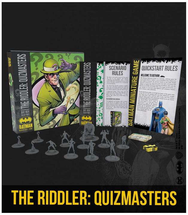 Batman: Miniatures Game - The Riddler's Quizmasters Bat Box Set