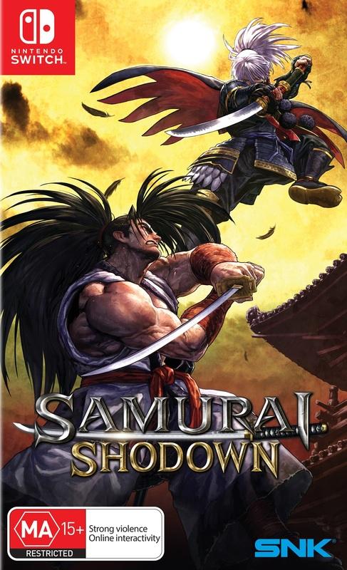 Samurai Shodown for Switch