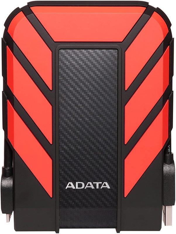 1TB ADATA HD710 Pro USB 3.2 Gen 1 Durable External HDD Red