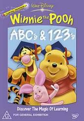 Winnie The Pooh - ABC's and 123's on DVD
