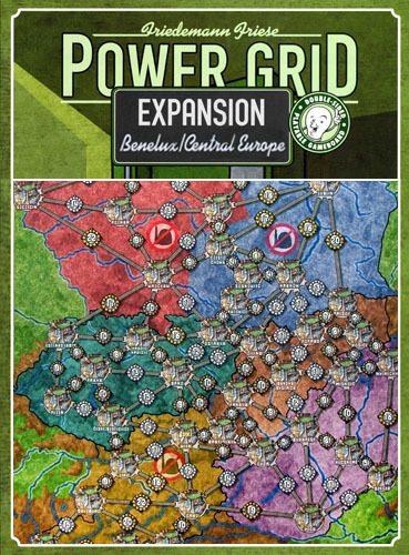 Power Grid: Benelux/Central Europe Expansion image