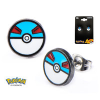Pokemon Great Ball Earrings