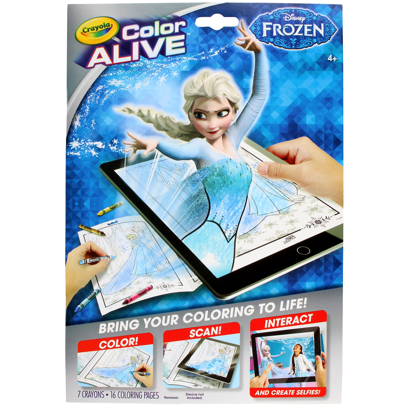Crayola: Colour Alive – Frozen | Toy | at Mighty Ape NZ