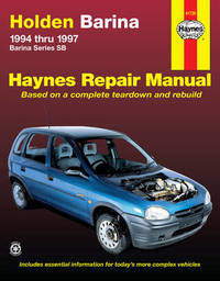 Holden Barina (94 - 97) by Steve Rendle