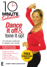 10 Minute Solution - Dance It Off And Tone It Up! on DVD