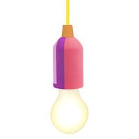 Sunnylife Pull Cord Lamp - Rainbow