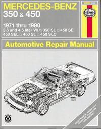 Mercedes-Benz 350 & 450 (71 - 80) by J.H. Haynes