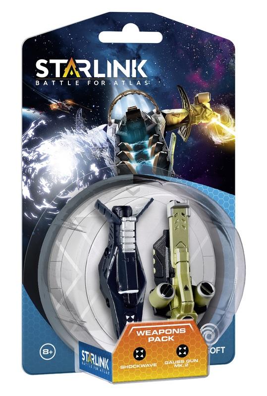 Starlink Weapon Pack - Shockwave/Gauss Gun for