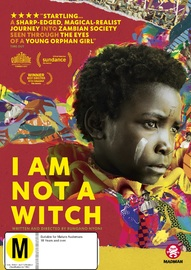 I Am Not A Witch on DVD