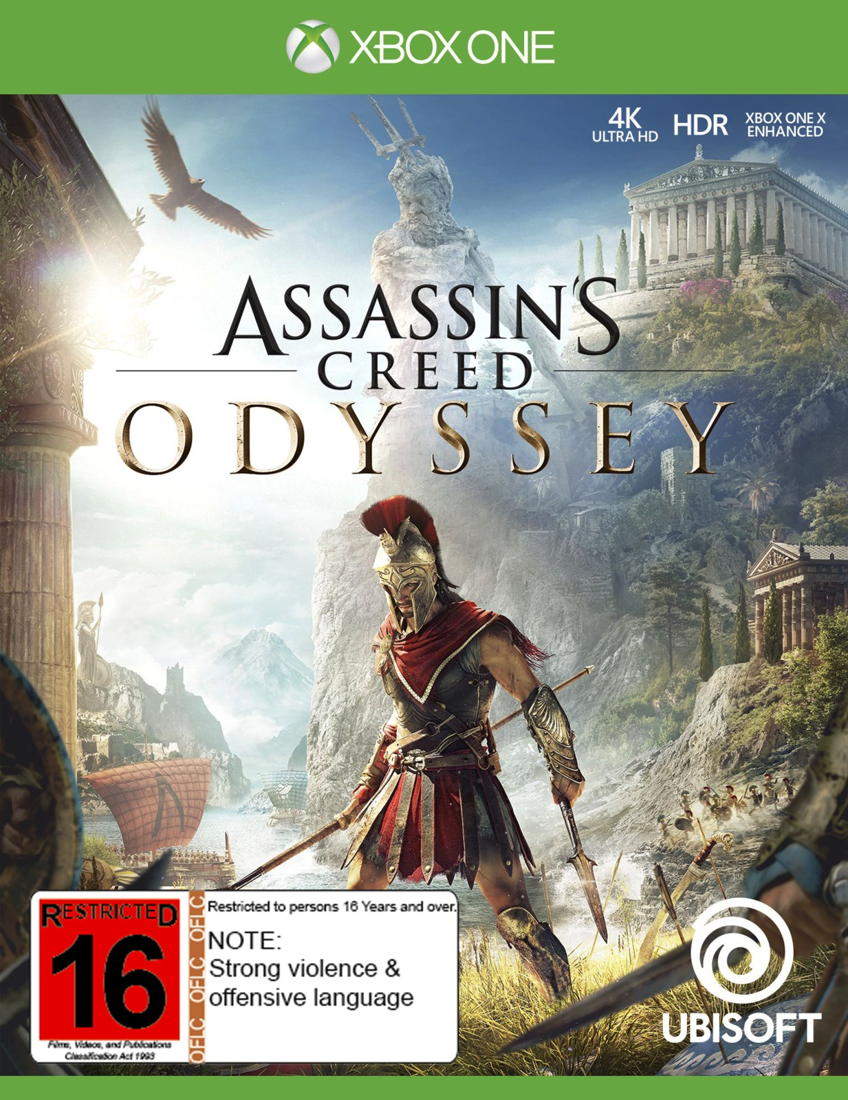 Assassin S Creed Odyssey Xbox One On Sale Now At Mighty Ape Nz