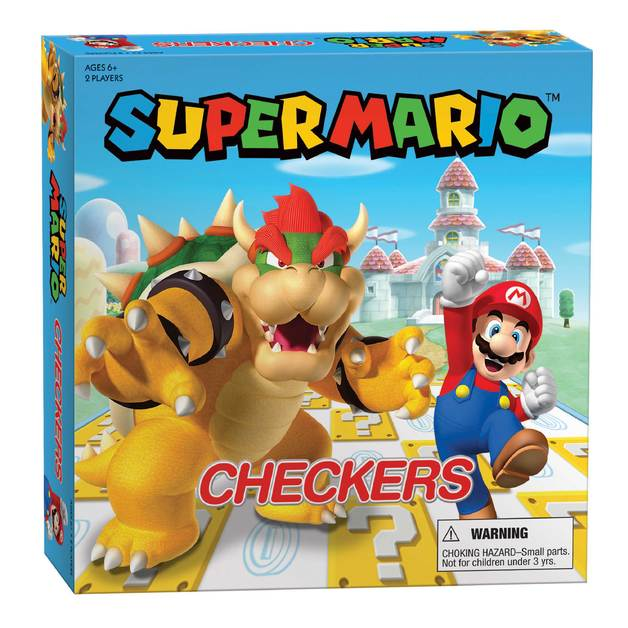 Super Mario: Checkers - Board Game