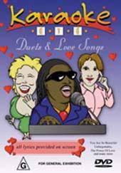 Karaoke - Duets & Love Songs on DVD
