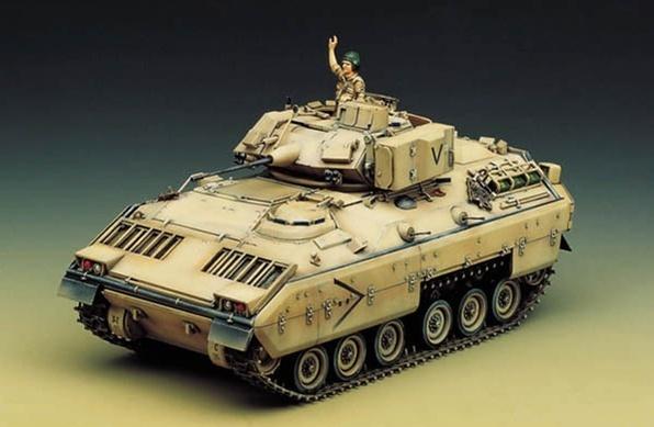 Academy M2 Bradley IFV 1/35 Model Kit image