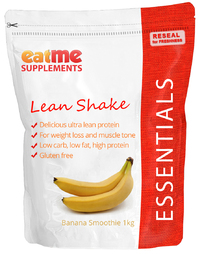 Eat Me Lean Shake Protein 1Kg (Banana Smoothie)