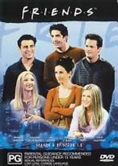 Friends Series 6 Vol 1 on DVD