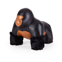 Zuny: Bookend Gorilla (Black)