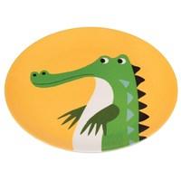 Rex Melamine Plate (Crocodile)